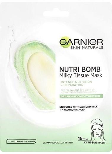 Garnier Garnıer Süt Bombası Besleyıcı Kağıt Yüz Maskesı Renksiz